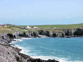 Coast near Sandycove Beach